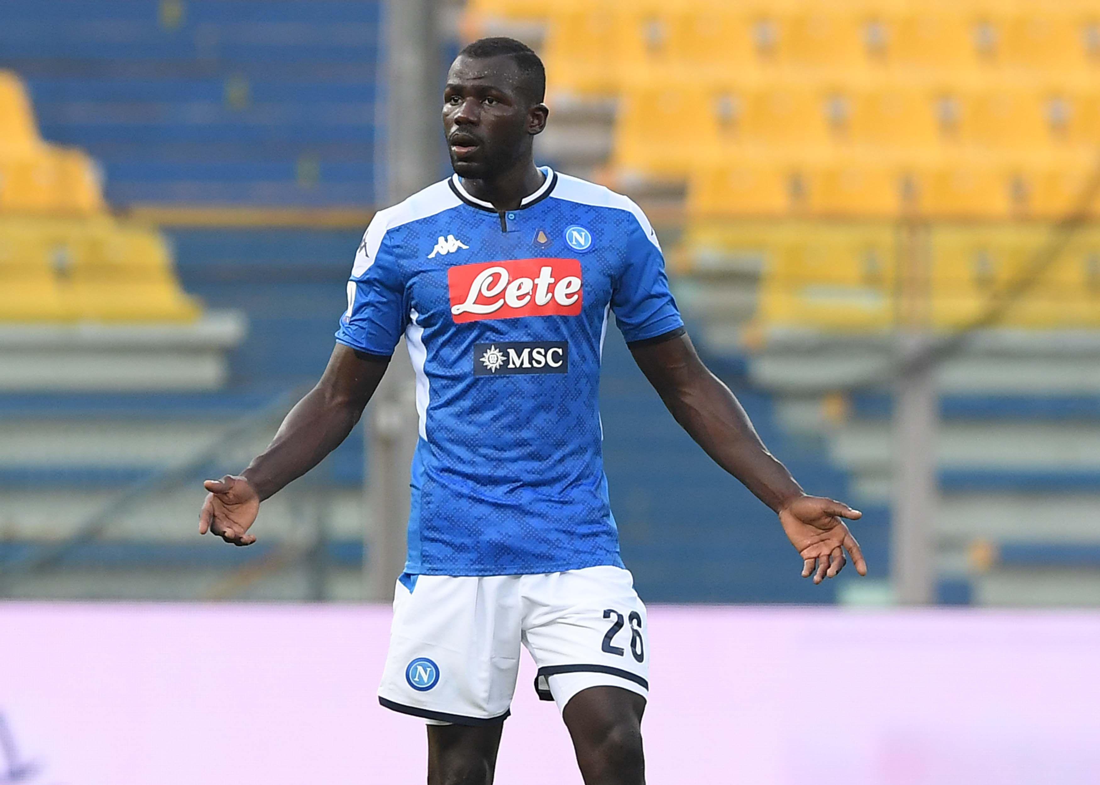 Koulibaly Napoli Manchester City Napoli
