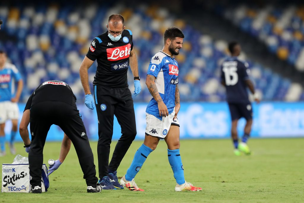 insigne barcellona infortunio
