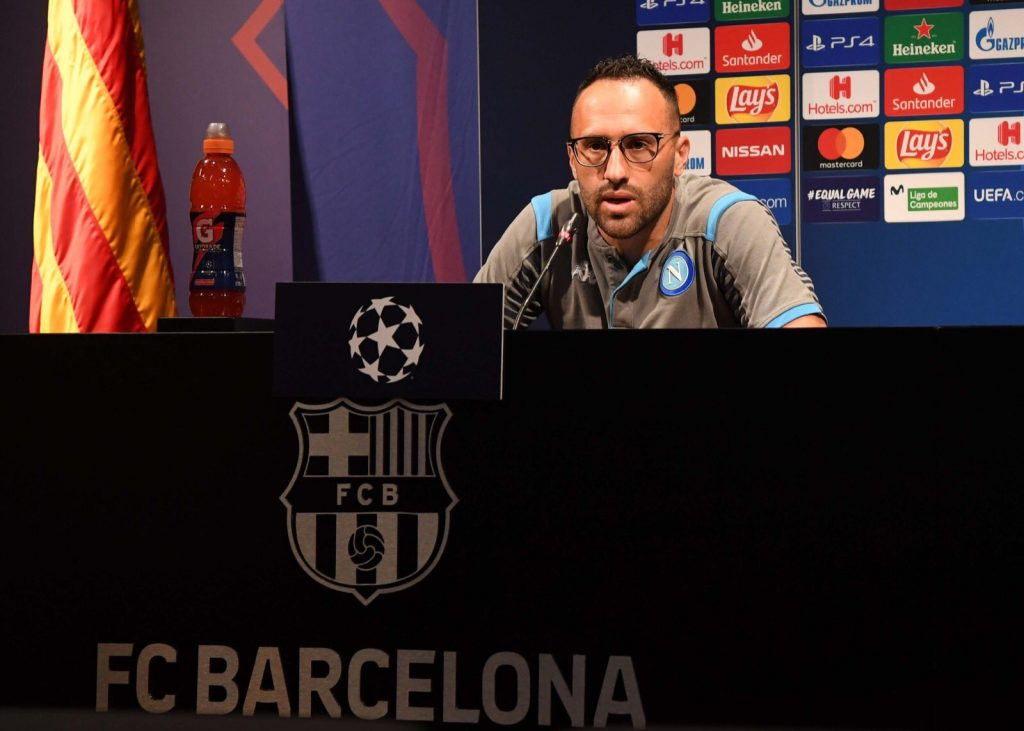 ospina in conferenza stampa