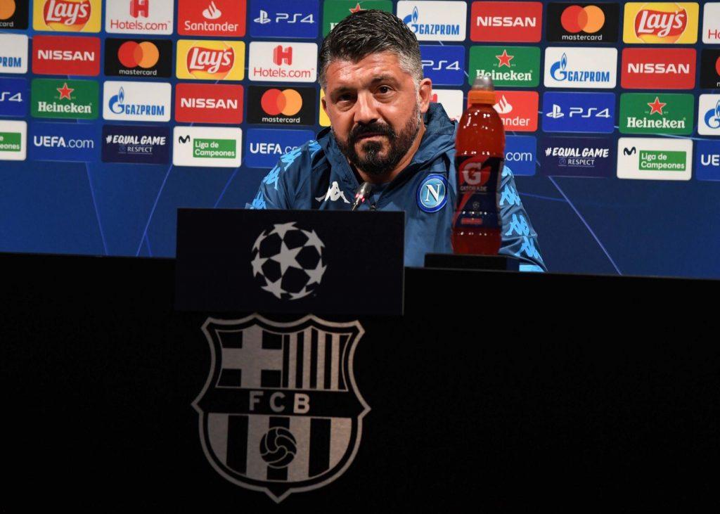 Gattuso conferenza stampa