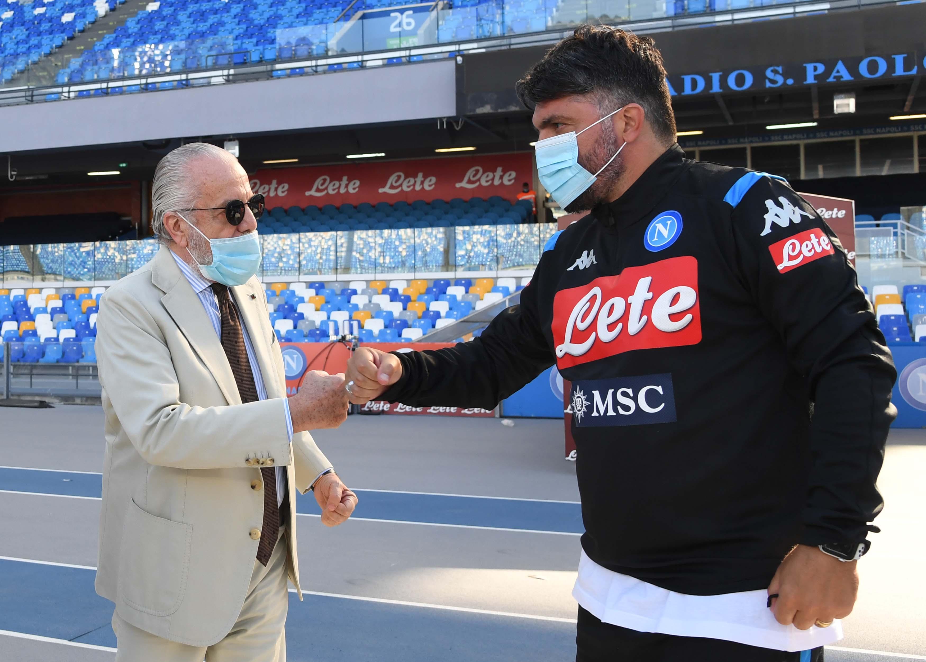 Napoli, Gattuso incontra De Laurentiis: appuntamento alle 13 a Capri