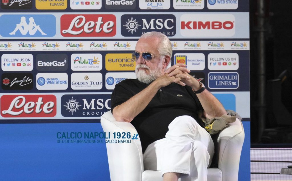 de laurentiis tifosi video