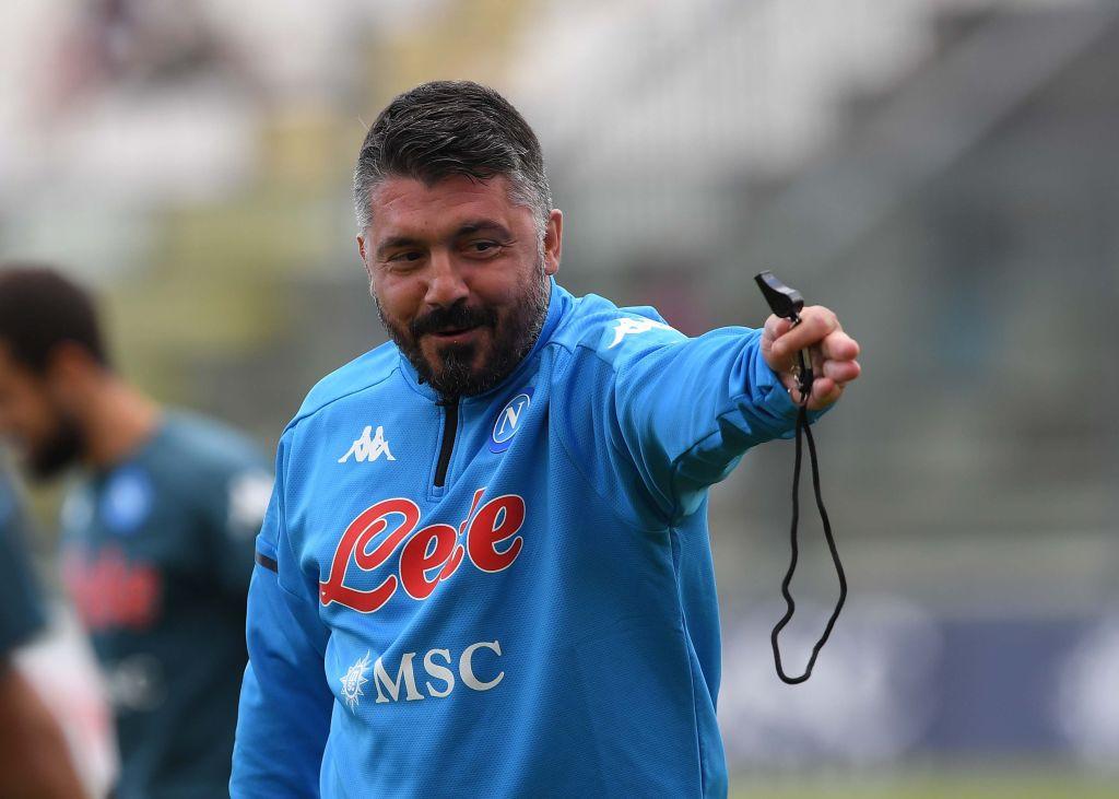 Gattuso Napoli Borriello
