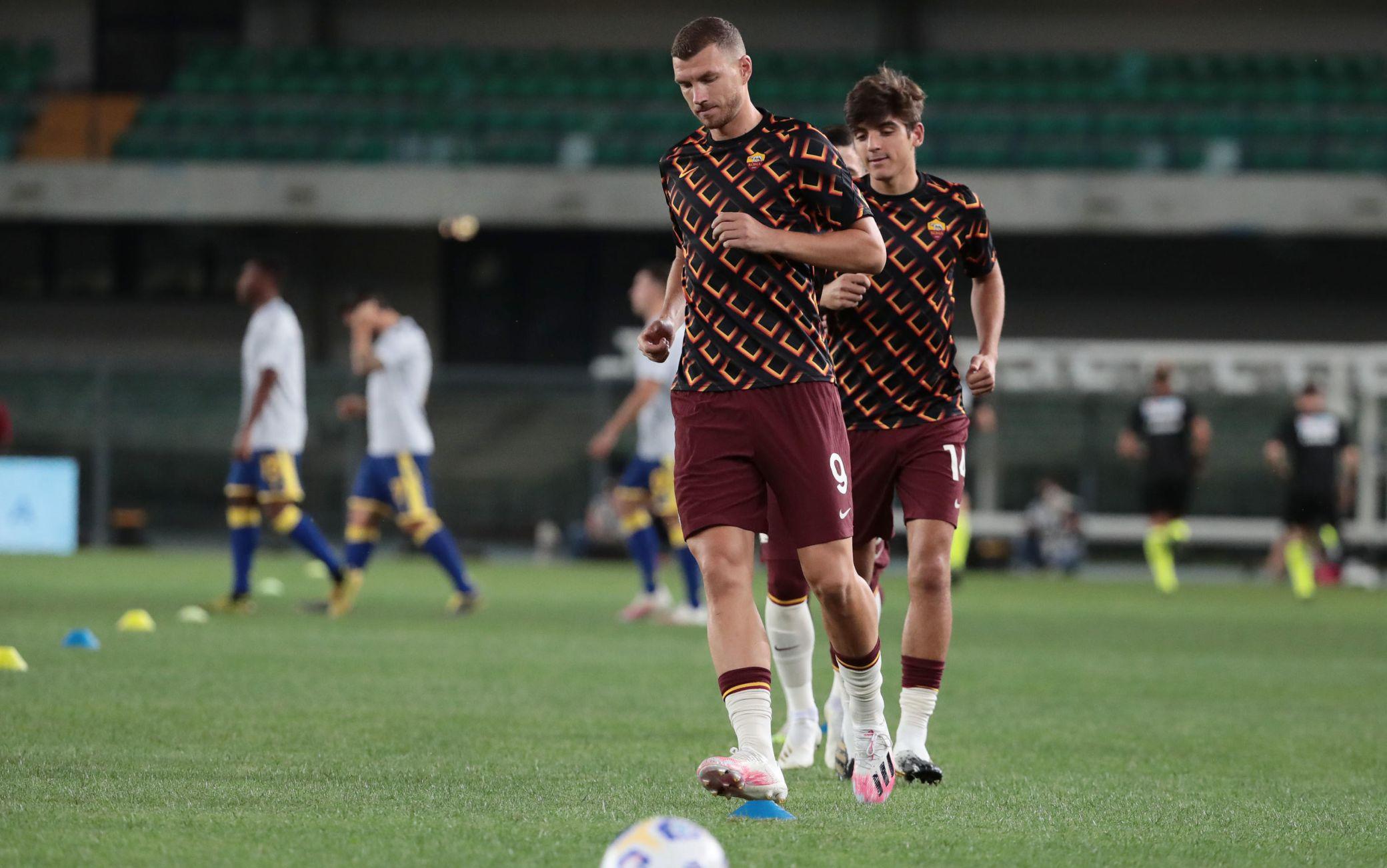 Dzeko Hellas Verona Roma
