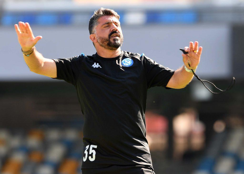 Gattuso Napoli ritiro