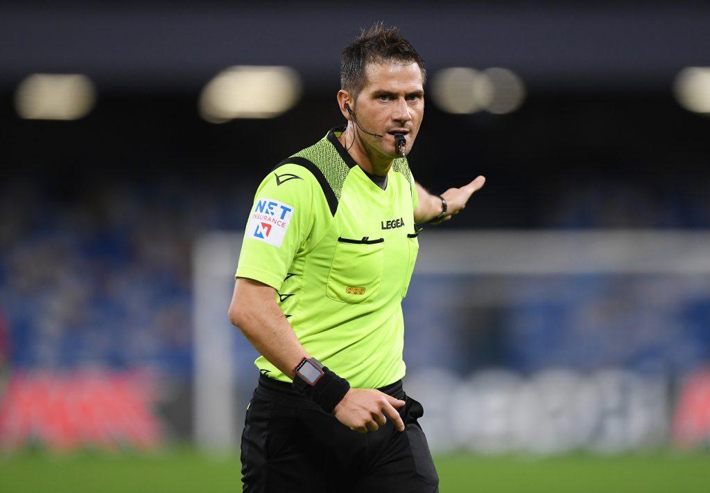 Udinese Napoli arbitro
