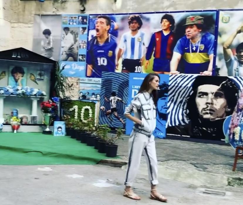 Moschino Murale Maradona